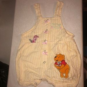 Disney's Winnie the Pooh overalls